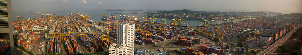 The Port of Singapore (2007).