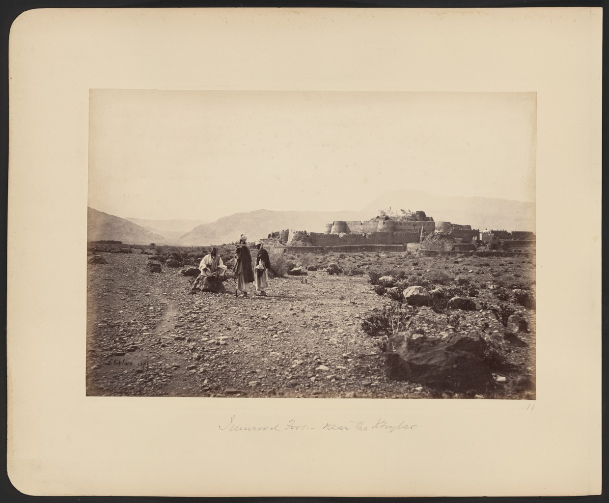 Jamrūd Fort near the Khyber during the Second Anglo-Afghan War of 1878-1880.